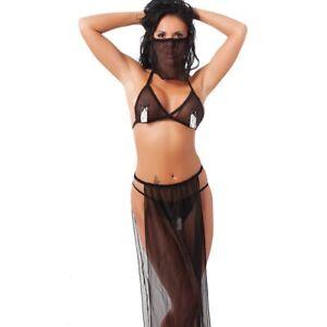 Rimba Harem Hotty Belly Dancer/Princess Fancy Dress Costume Oriental Set