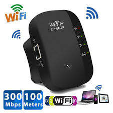 Wifi Repeater 300Mbps Wireless Router Range Extender Signal Booster WPS UK Plug