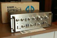 Vintage Pioneer SPEC-1 Preamplifier - Original & Working - w/ Box & Manual Clean
