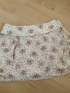 Ba&sh Mini Skirt White Floral Rp150 Size3