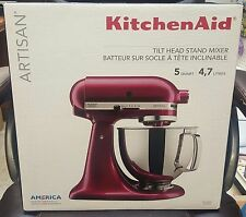 KitchenAid 5 Quart Artisan Stand Mixer - Bordeaux KSM150PSBX