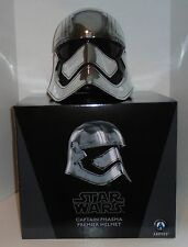 "STAR WARS ""CAPTAIN PHASMA"" Premier Helmet TFA Anovos 1:1 scale NEW  factory box"