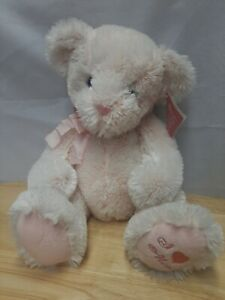"Russ Co. Teddy Bear ""Blush"" Pink Soft Mothers Day Bear"