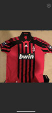 Kaka,#22 Signed Ac Milan Signed And Worn Jersey