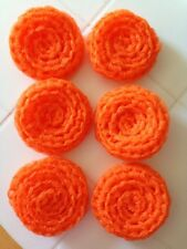 6 Orange -- NYLON NET POT SCRUBBIES