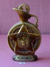 Jim Beam Whiskey Empty Liquor Bottle Decanter_#66