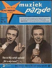 MUZIEK PARADE 80/63 ROB DE NIJS SYLVIE VARTAN HALLYDAY