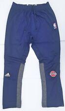 NBA × Adidas - Game Used Worn Warm Up Pants Detroit Pistons Marcus Morris 13
