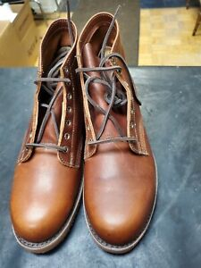 FRYE prison Men's Brown Leather BOOTS Size 10 M.