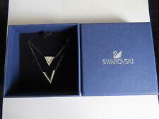 New in box Set of 2 mix Swarovski ladies Delta Necklace pendant