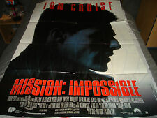 AFFICHE  TOM CRUISE / DE PALMA / MISSION IMPOSSIBLE