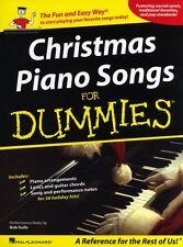 Navidad Piano Canciones Para Dummies aprender Navidad Villancicos fácil principiante PVG música Libro