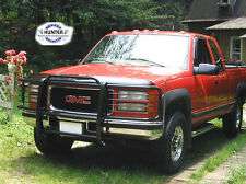 1988-1998 Chevrolet GMC Silverado Sierra Black Grill Brush Guards