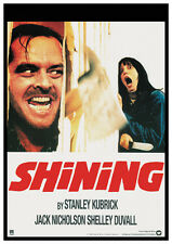 The Shining (1980) Jack Nicholson Stanley Kubrick movie poster print