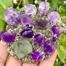 206g Fluorite, pyrite, amethyst, cluster mineral, crystal 531