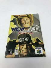 WCW vs. NWO World Tour - Nintendo 64 N64 - Instruction Manual Only booklet