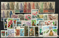 FRANCE GABON lot 43 different stamps - MH - Used - VF