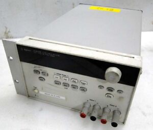 Agilent E3649A 0-35V 1.4A / 0-60V ,0,8A Dual Output DC Power Supply