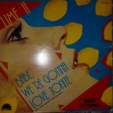 "LIME II - BAbE WE'RE GONNA LOVE TONITE MAXI 12""(1982 POLYDOR ) MUS DISCO VG+/VG"