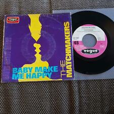 The Matchmakers/ Mark Wirtz - Baby make me happy 7'' Single Germany