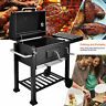 BBQ Barbecue Charcoal Grill w/ Wheels Smoker Portable Party Outdoor Patio Garden
