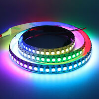 1M WS2812B 144LED 5050 RGB Non-waterproof Addressable Dream Color Strip Light 5V