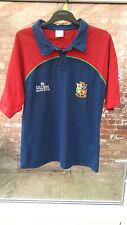 British Lions de Nouvelle-Zélande 2005 Gulliver Adidas bleu rugby Polo Taille S