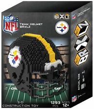 Pittsburgh Steelers Team Helmet NFL BRXLZ Puzzle 3D Construction Toy 1395 Pcs
