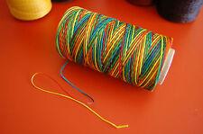 1mm Leather Craft Waxed Wax Thread DIY Stitching Chisel Sewing-10 Yard per Order