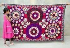 Traditional Silk Handmade Embroidery Uzbekistan Suzani decor Suzani Bedding