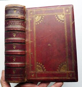 THE PILGRIMS PROGRESS BY JOHN BUNYAN, 1850, FULL LEATHER