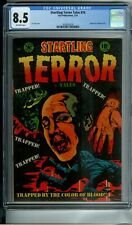 STARTLING TERROR TALES #14 CGC 8.5 L.B. COLE COVER *HIGHEST GRADED* 1 OF ONLY 2