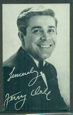 1960'S Exhibit Arcade Card Singer Jerry Vale Nm
