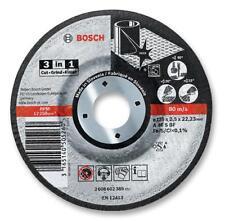 3-in-1 Cutting Disc 125 x 2.5 x 22.23mm