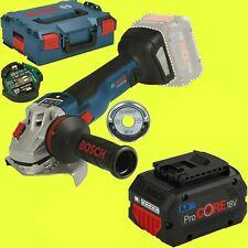 Bosch Amoladora Angular Batería Gws 18v-10 Sc 125 mm + 1 X 8,0Ah Procore - sin