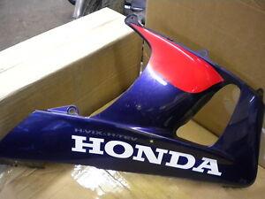 HONDA FIREBLADE RIGHT SIDE FAIRING LOWER BELLY PAN CBR 900 RR Y 2000 2001 R/W/B