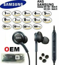 NEW OEM Samsung S10 S9 S8+ Note 8 AKG Headphones Earphones For Galaxy Earbud Lot