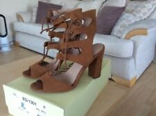 NEXT Suede Lace Up Sandals for Women