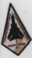 GB UK Armabzeichen Tornado Strike Force- Dhahran- Saudi  Arabia Desert Storm 91