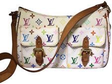 Louis Vuitton Lodge GM White Multicolore Monogram Shoulder Bag