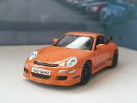 PORSCHE 911 GT3 RS ORANGE 4.5' PERSONALISED MODEL CAR BOXED NEW BOYS TOYS GIFT