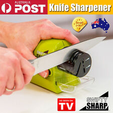 Electric Knife Sharpener Swifty Sharp -Multifunctional Cordless Motorised Knife