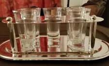 Studio Nova Silver Plated Vodka Set