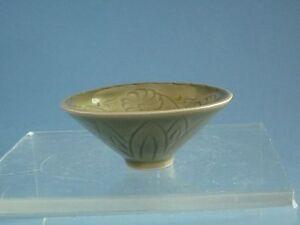 Song Dynasty Yao Zhou Yao Carved Buwl 宋代耀州窯小碗