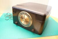 VINTAGE ADMIRAL RADIO PHONOGRAPH RECORD PLAYER MODEL 6S12N ART DECO
