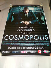 AFFICHE COSMOPOLIS Robert Pattinson 4x6 ft Bus Shelter Poster Original 2012