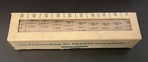 DDR 1957 Mi. 578 BR 10 Rollen in Originalverpackung Fünfjahrplan Mi Wert 2250 €
