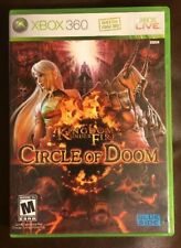 xbox360 Kingdom Under Fire: Circle of Doom Replacement Case --NO GAME INCLUDED
