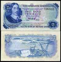 SOUTH AFRICA 2 RANDS P 117 AUNC
