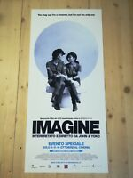 "IMAGINE Original Music Movie Poster 12x27"" JOHN LENNON BEATLES YOKO ONO"